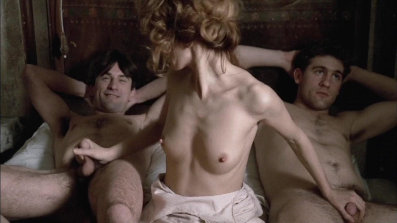 Bare female on bath hot