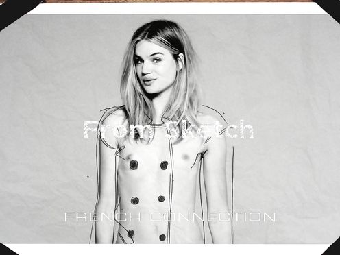 French Connection AW13 Campaign Teaser – Milou
