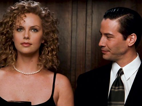Charlize Theron naked, Connie Nielsen naked – THE DEVIL'S ADVOCATE