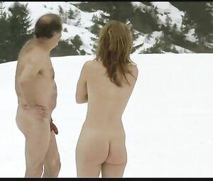Nackt  Sandra Hüller 'Toni Erdmann'