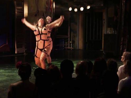 Burlesque Undress SHOW -034- Elle Dorado – The Orgy Fest