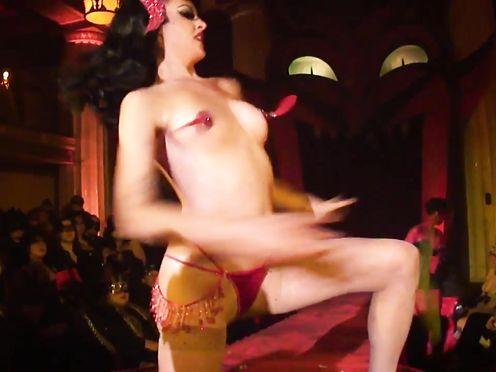 Burlesque De-robe SHOW -040- Laura Desiree Peepshow