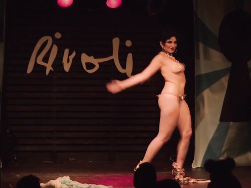 Burlesque Unclothe DEMONSTRATE Elena Candela – The Rivoli – 2017