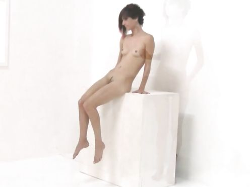 Nude on Stage Art Performance- Madame Nu