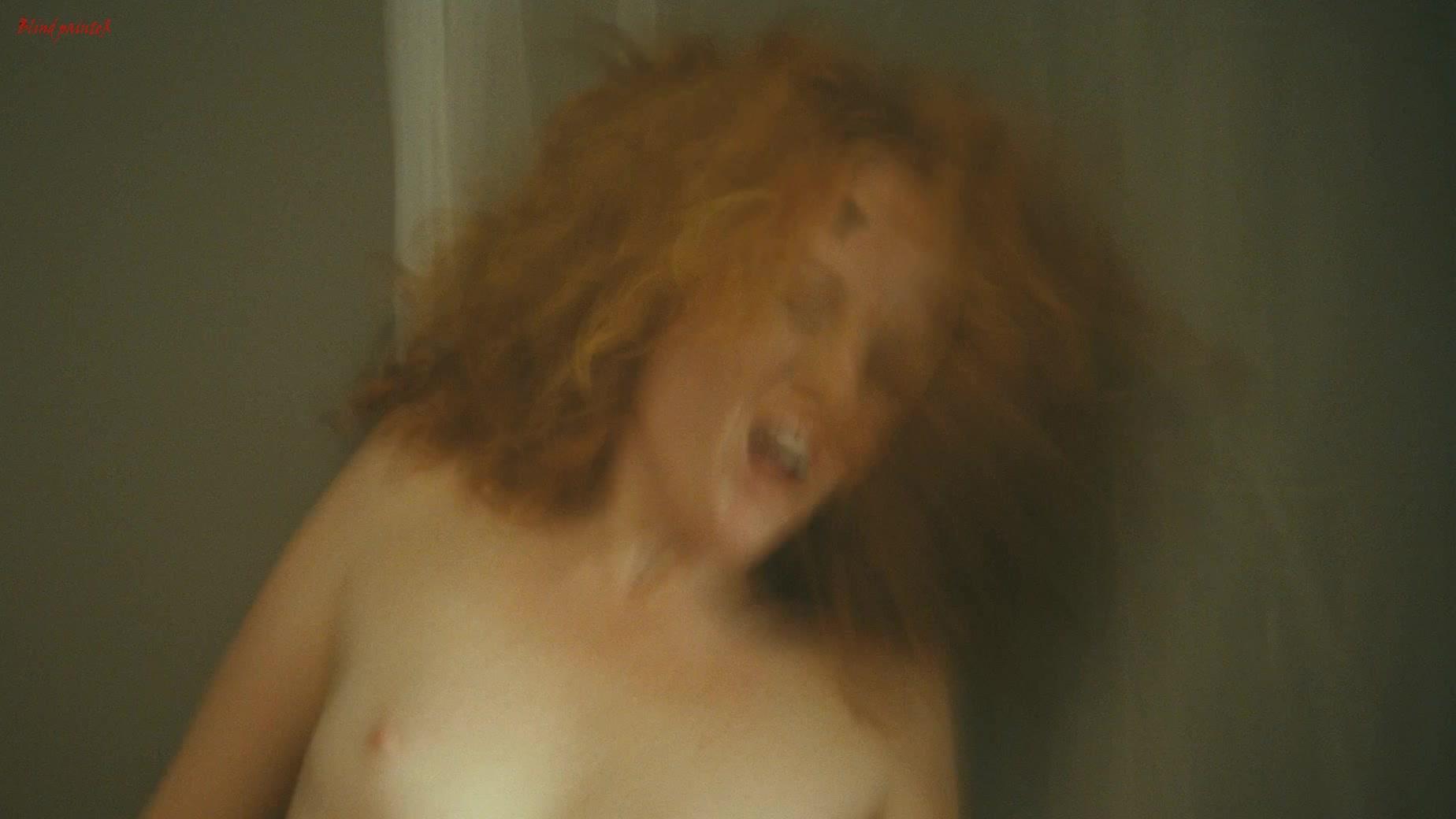 Nude women standing up