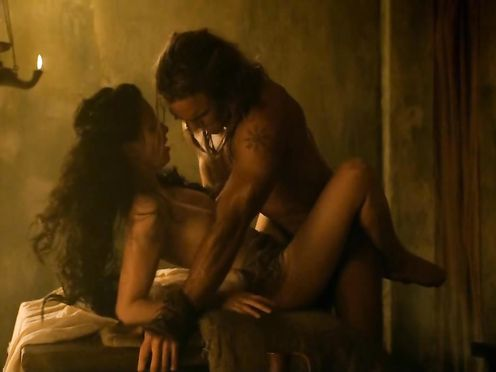 Delaney Tabron naked – Spartacus S02E05
