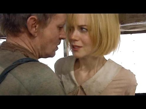 Nicole Kidman super-steamy – Dogville (2003)