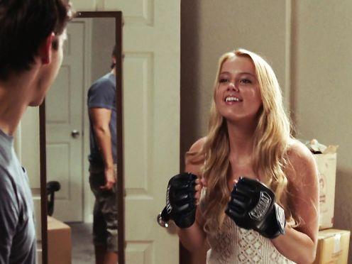 Amber Heard nude- Never Back Down (2008)