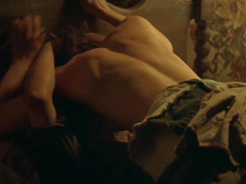 Olivia Williams naked – The Postman (1997)