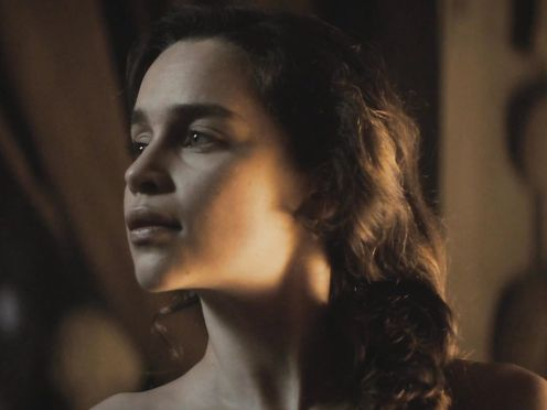 Emilia Clarke nude – Voice from the Stone (2017)