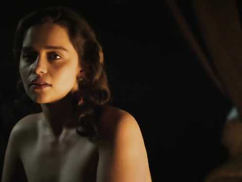 Emilia clark sex scene