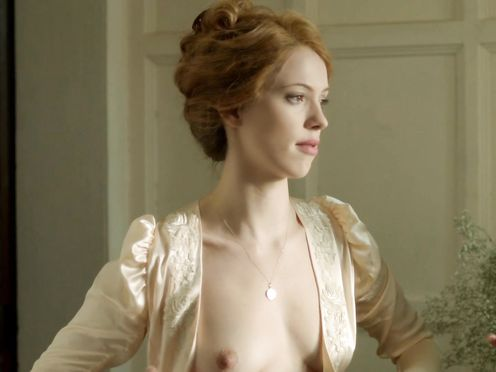 Rebecca Hall, Adelaide Clemens nude – Parades End (2012)