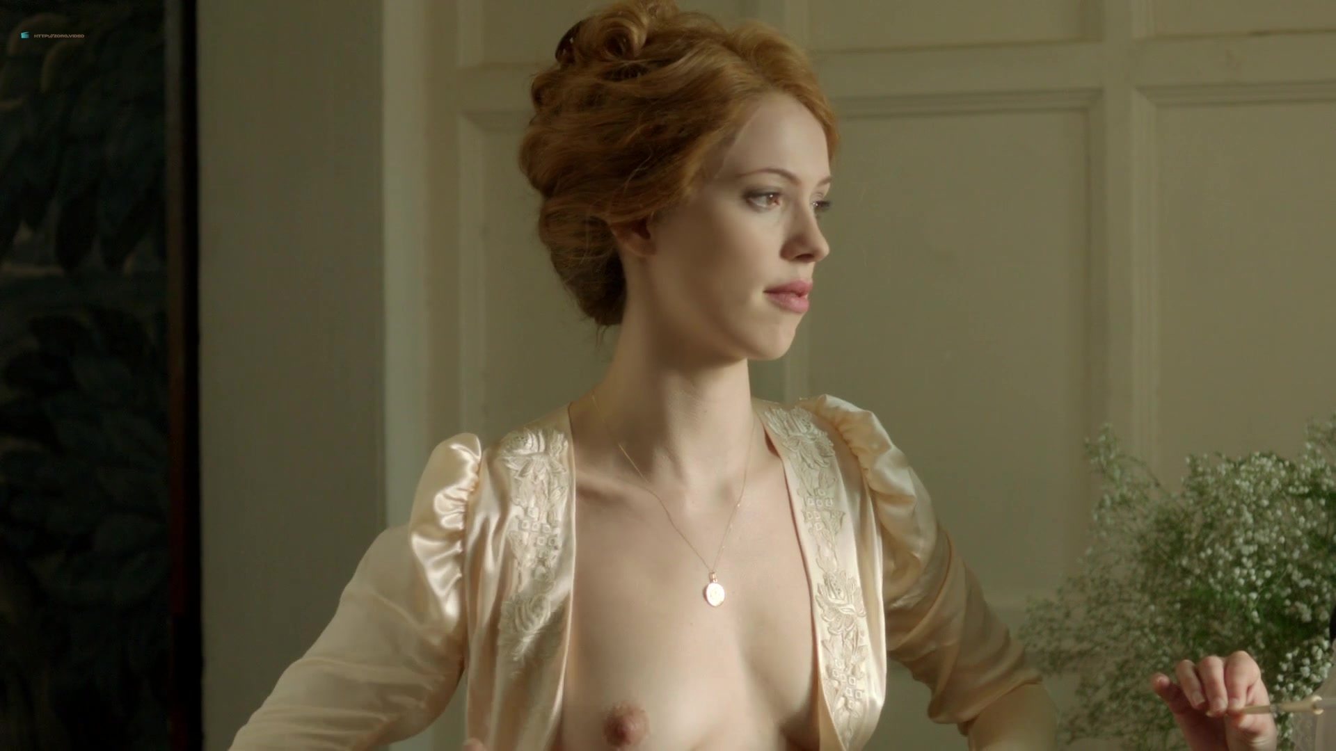 Rebecca Hall, Adelaide Clemens Nude - Parades End 2012 -3782