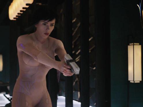 Scarlett Johansson nude – Ghost in the Envelope (2017)
