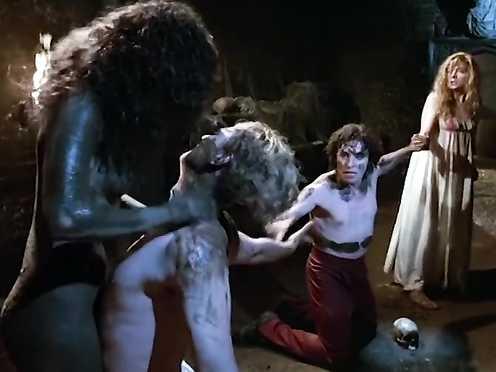 Myriam Cyr nude, Natasha Richardson glorious, Pascal King naked – Gothic (1986)