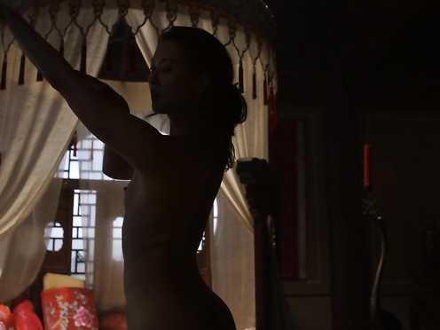 Olivia Cheng naked – Marco Polo s01e02 (2014)