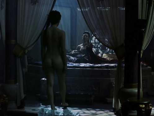 Olivia Cheng naked – Marco Polo s01e04 (2014)
