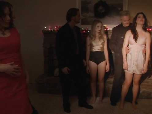 Jess Webb Nude – Stretching Darkness (2017)