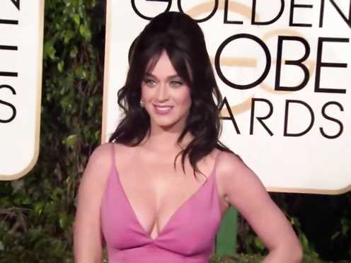 Katy Perry Wondrous Bosom – Golden Globe Awards (2016)