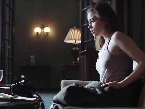 Sophie Cookson Naked – The Crucifixion (2017)