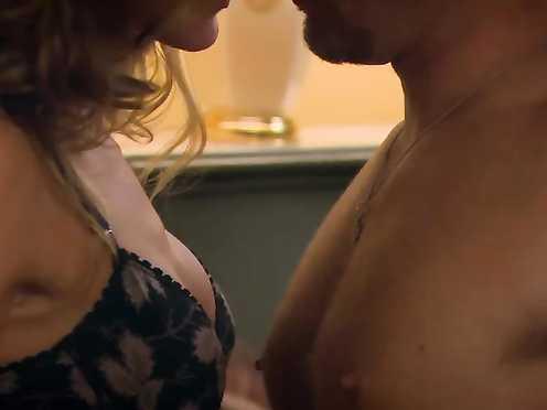 Tricia Helfer sexy – Hidden Misdeeds (2009)