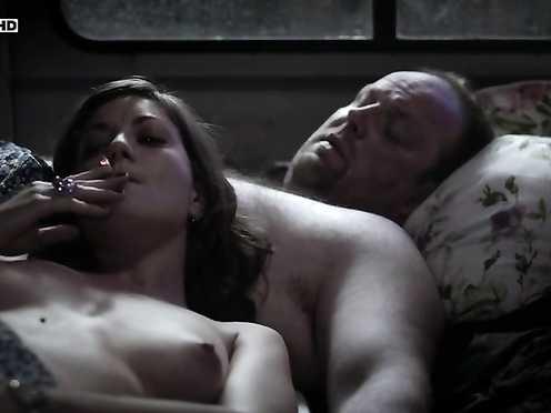 Georgia Scalliet Nude – Rapace (2011)