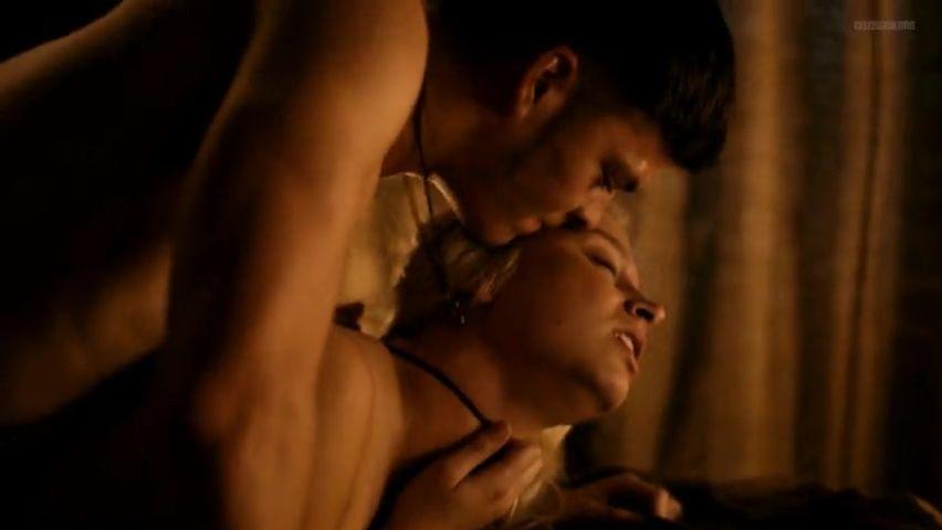 Vikings tv show nude scene improbable