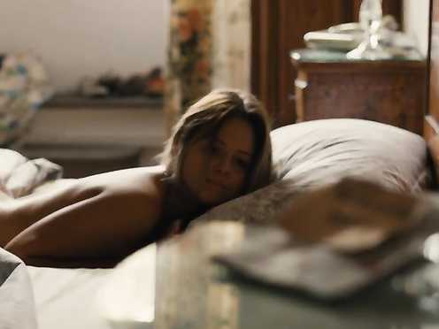 Emily Atack Nude – Lost in Florence (2017)