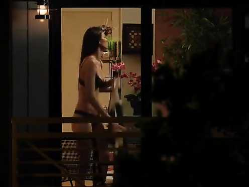 Alana De La Garza, Melanie Ratcliff naked – Are You Here (2013)