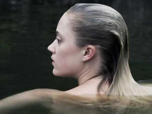 Maika Monroe Naked – Bokeh (2017)