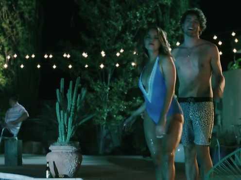 Debby Ryan scorching bathing suit – Coat Versions (2018)