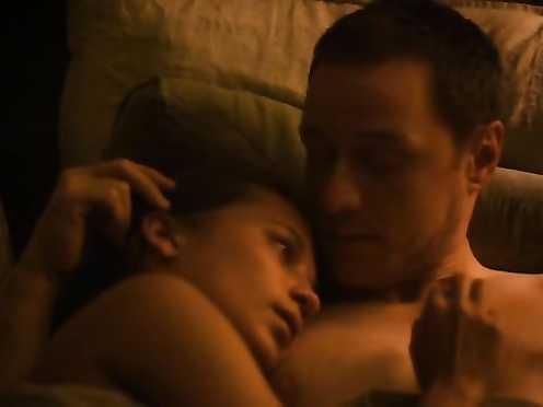 Alicia Vikander naked – Submergence (2018)
