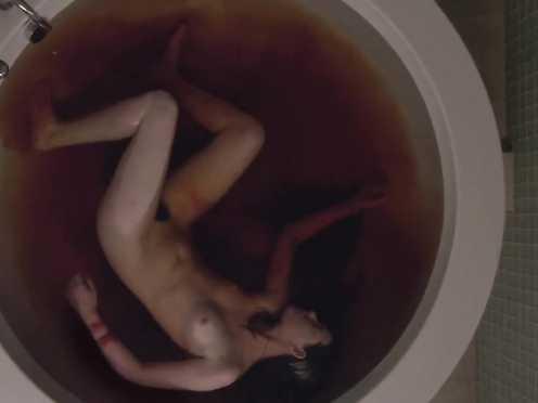 Sarah Hagan naked and lovemaking sequence – Sun Gasp (2015)